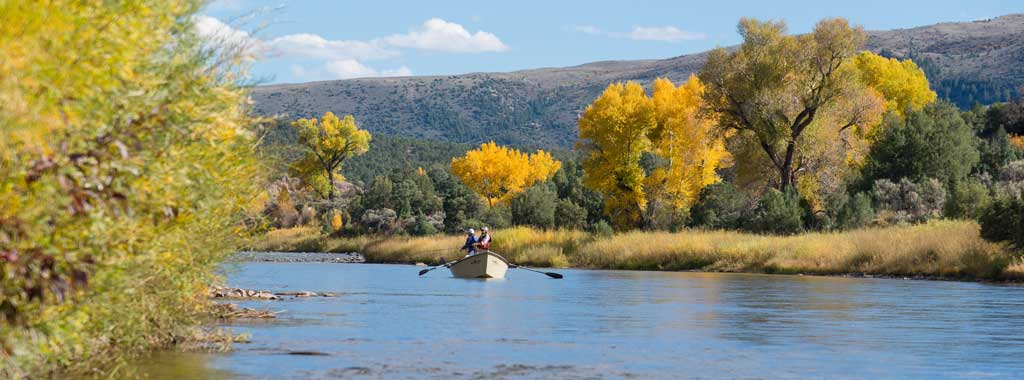 Float Fly Fishing on the Colorado River with Vail Valley Anglers in Vail, CO