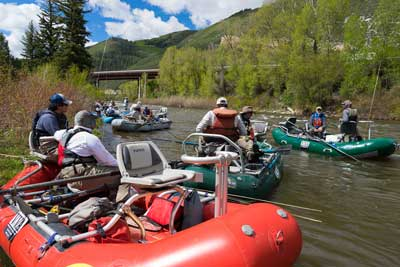 Guide Service for Float Fly Fishing Trip with Vail Valley Anglers in Vail, CO