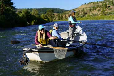 Vail Valley Anglers Guided Fly Fishing 3/4 Day Float Trips in Vail, Colorado.