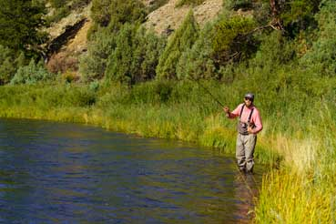 Vail Valley Anglers Guided Fly Fishing 3/4 Day Wade Trips in Vail, Colorado.
