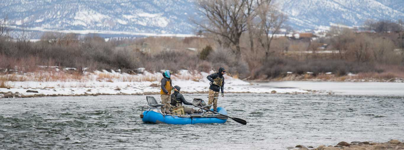 Guided Full Day Winter Float Fly Fishing Trip with Vail Valley Anglers in Vail, Colorado