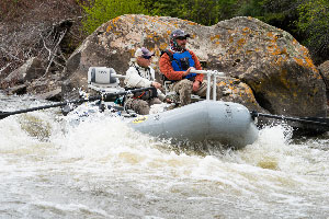 Vail Valley Anglers Guided Fly Fishing Oar Certification in Vail, Colorado.
