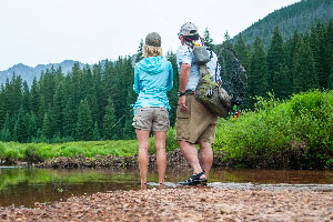 Vail Valley Anglers Guided Fly Fishing Hike & Fish Trips in Vail, Colorado.