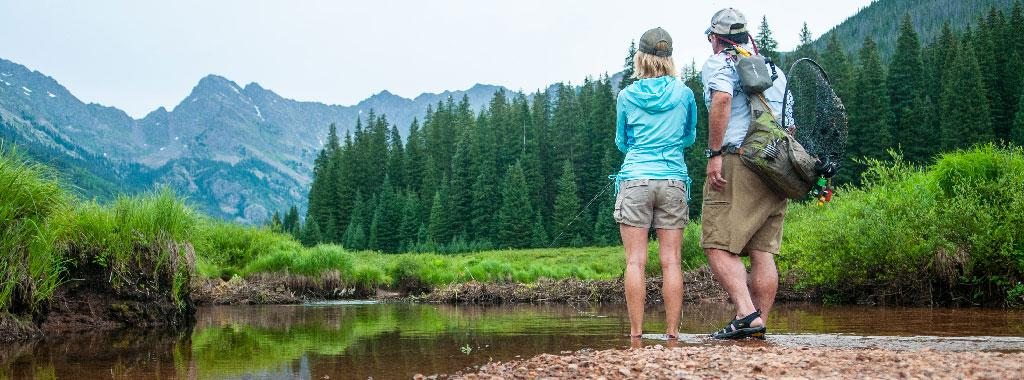 Guided Hike and Fly Fishing Trip with Vail Valley Anglers in Vail, Colorado