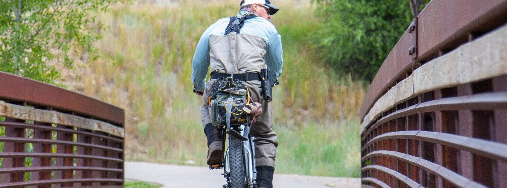 Guided Bike and Fly Fishing Trip with Vail Valley Anglers in Vail, Colorado
