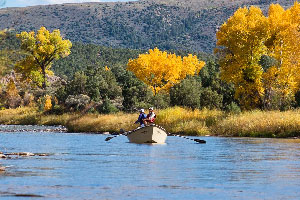 Vail Valley Anglers Guided Fly Fishing Full Day Float Trips in Vail, Colorado.