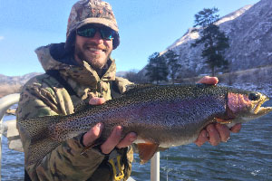 Vail Valley Anglers Guided Fly Fishing Winter Float Trips in Vail, Colorado.