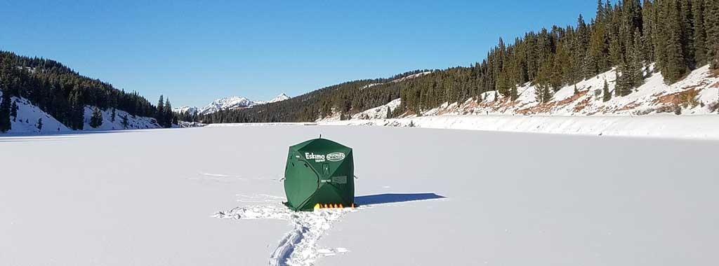 Guided Ice Fishing Trip with Vail Valley Anglers in Vail, Colorado