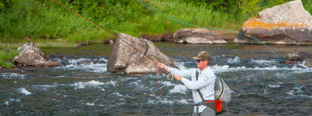 Trout Spey Guided Fly Fishing Trips