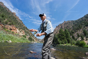 Vail Valley Anglers Guided Fly Fishing Half Day Private Waters Trips in Vail, Colorado.