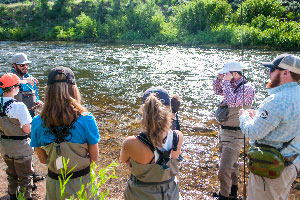 Vail Valley Anglers Half-Day Fly Fishing School in Vail, Colorado