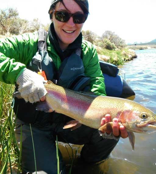 Emily Dmohowski, Vail Valley Anglers Wade Guide