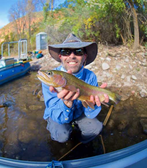 Mark Barnwell, Vail Valley Anglers Wade & Float Guide