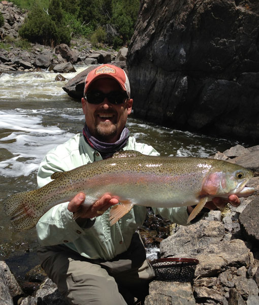 Michael 'Sal' Salomone, Vail Valley Anglers Wade & Float Guide
