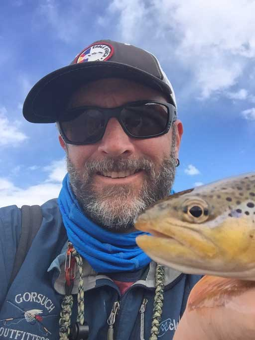 Mike Rippstein, Vail Valley Anglers Wade Guide