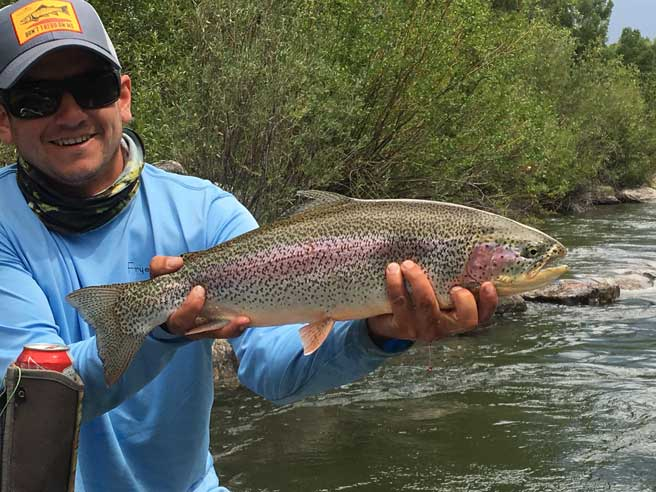 Greg Harvey, Vail Valley Anglers Wade & Float Guide