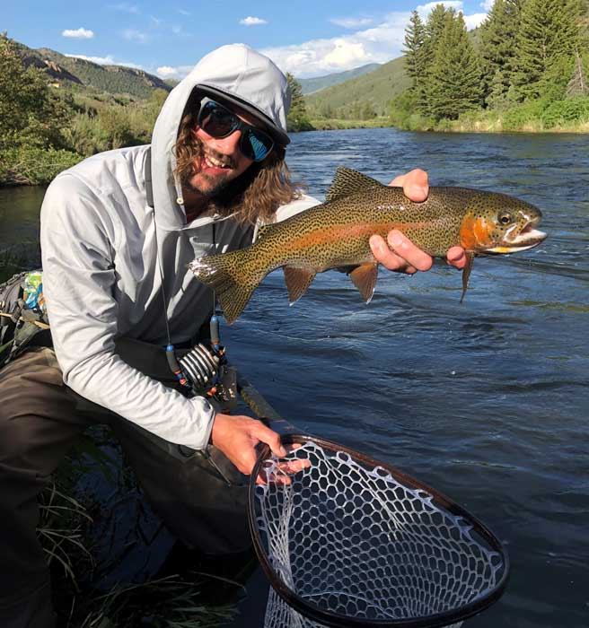 Steve Becht, Vail Valley Anglers Wade Guide