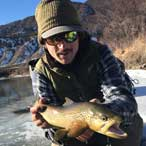 Guide Will Watson fishing for Trout in the Vail Valley, CO