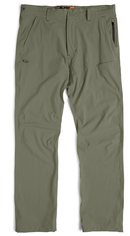 Howler Bros Shoalwater Tech Pants in Battle Green
