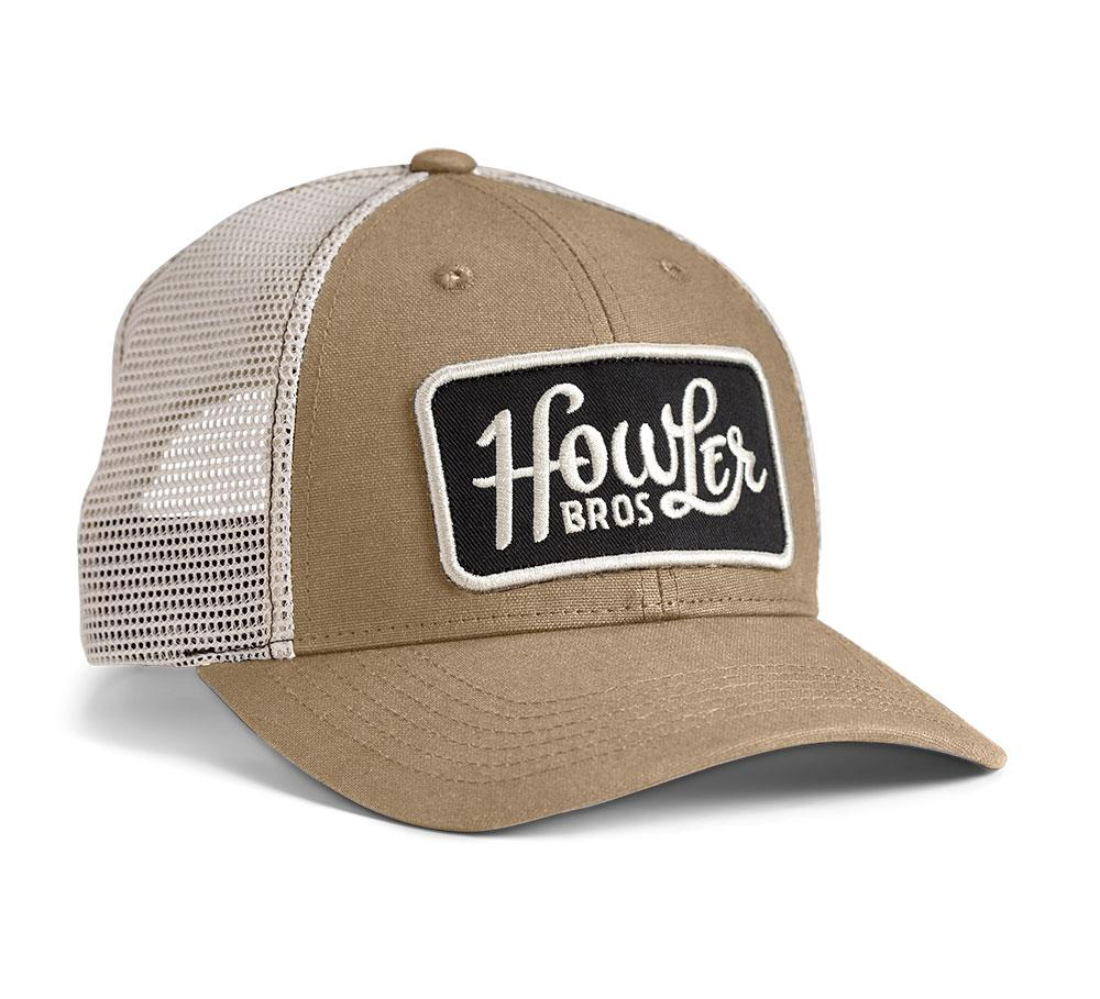 Howler Bros Howler Classic Hat in Deep Khaki and Stone