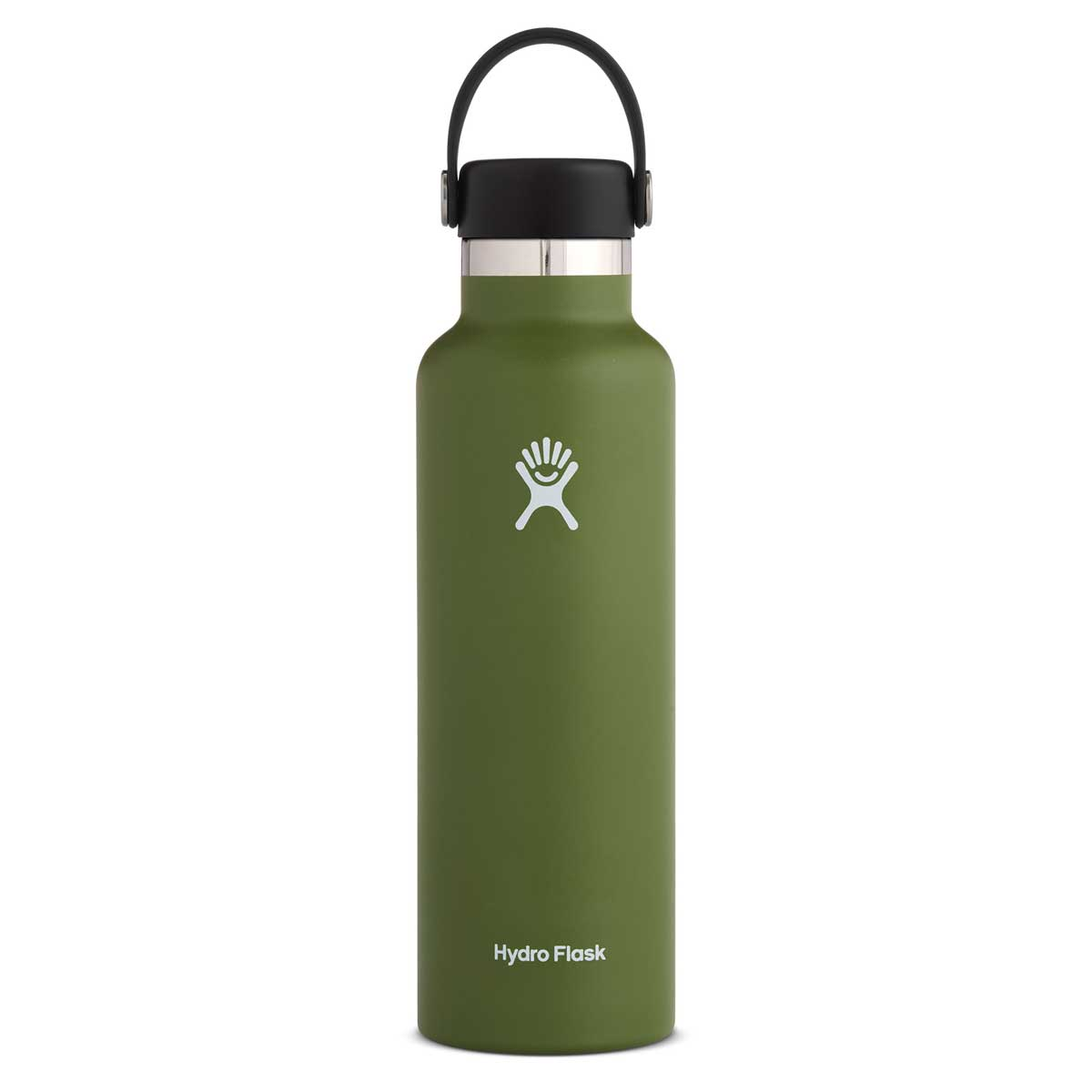 Hydro Flask 21 oz Standard Mouth with Flex Cap in Olive