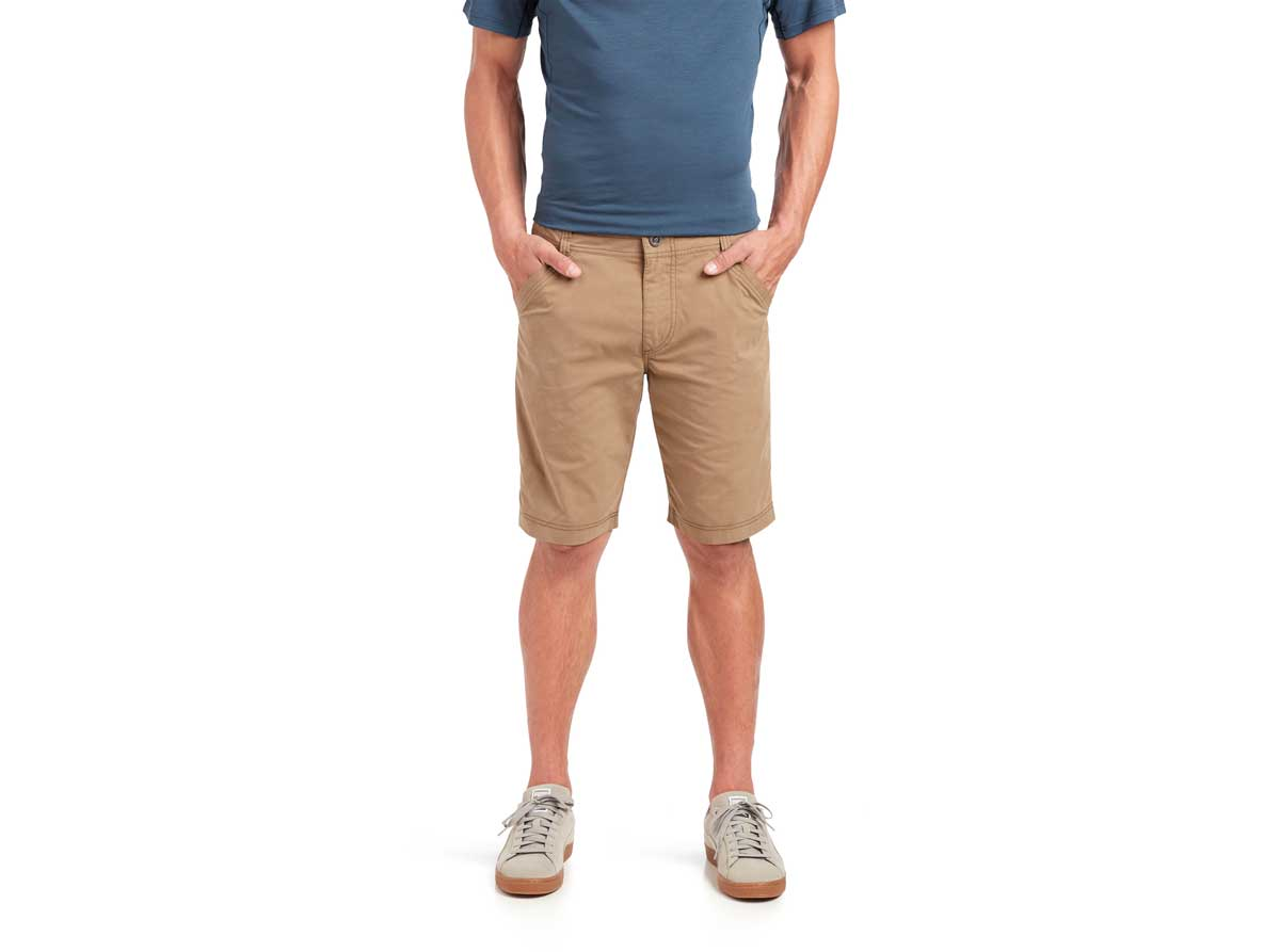 Kuhl men's Free Radikl 10 inch Short in dark khaki