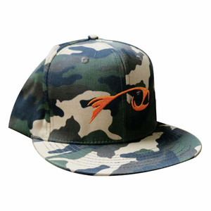 Rising Flat Bill Hat in Camo