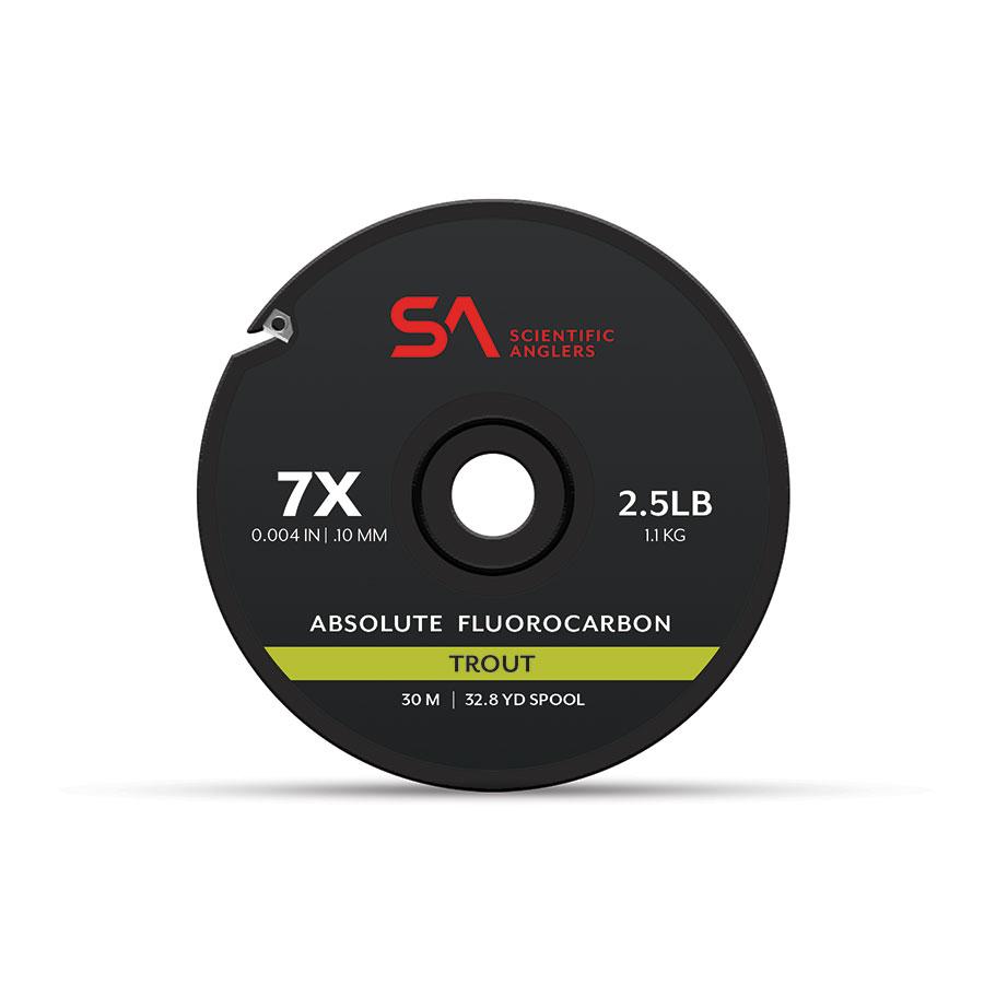 Tippet Rings BONUS PACK!! 25M Spool of Fluorocarbon Tippet 5X Leader 7.5 ft