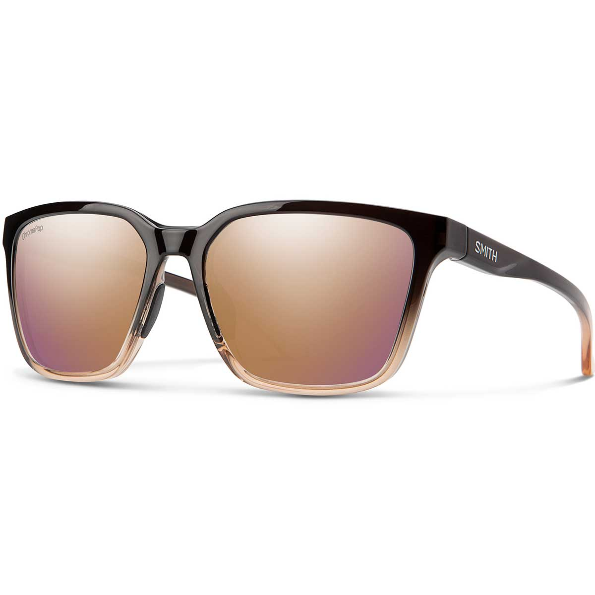 Smith Shoutout Sunglasses Chromapop in Ombre Fade with Rose Gold main view