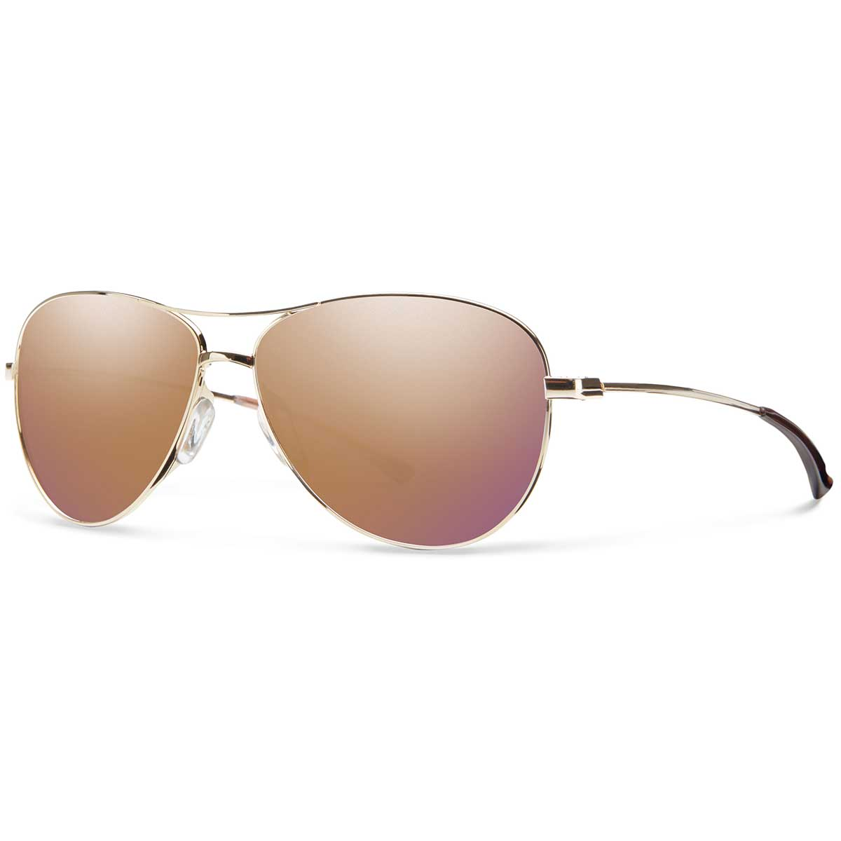 Smith Langley Sunglasses in Gold with Rose Gold Mirror main view